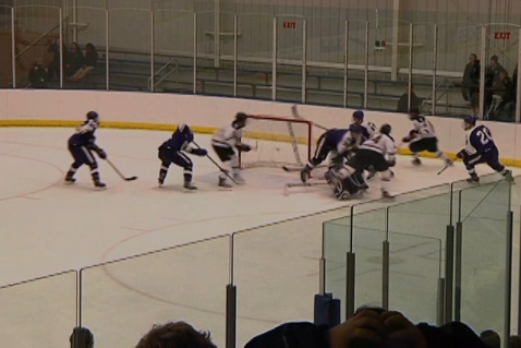 Pauly Scores Gamewinner Vs. Holy Cross!