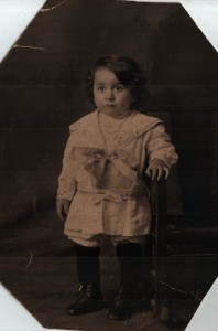 Mabel Mary Saba, Toddler