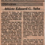 Eddie-Saba-Obituary (Edward Saba's Obituary 06/26/1909 – 01/05/1988)