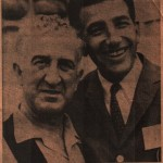 Phosey Saba and NBA Dolph Schayes (Phosy's Brother?)
